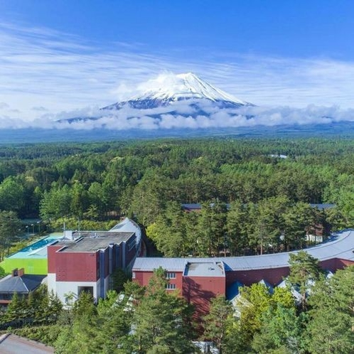 【全景】富士の麓に位置する高原リゾート※イメージ