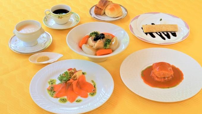 地元の食材を採り入れた秋の「洋食」コース