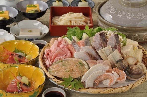 【冬季限定】季節の寄せ鍋はお出汁が自慢、もちろん食材も拘り!【お鍋でほっこ りプラン】