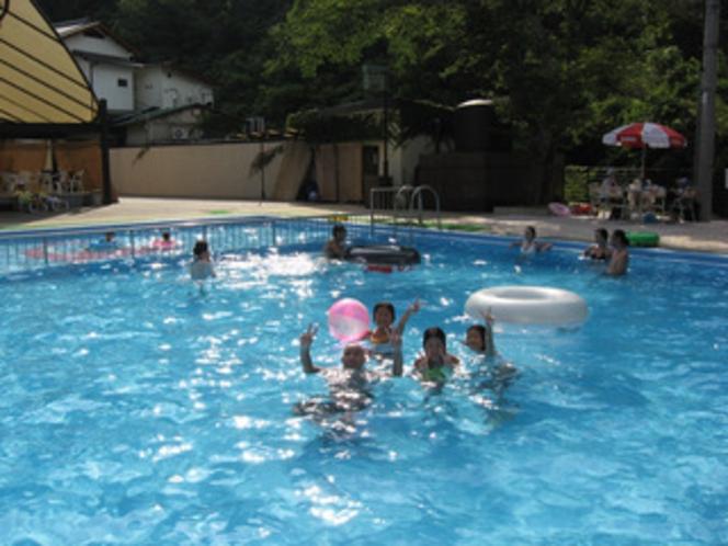 プールです。