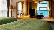 ◆【客室】【デラックス和洋室】目を覚ませばそこは海の上。