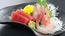 ◆【食事/夕食スタンダード/春】 ぷりぷりのお刺身