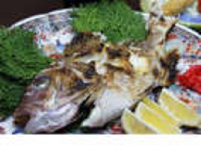 鯛の塩焼き 4名様盛り