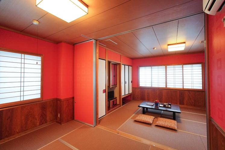 モダン和室 4名〜6名様のお部屋になります。 オーシャンビュー