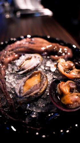 貝類も豊富に漁獲されます