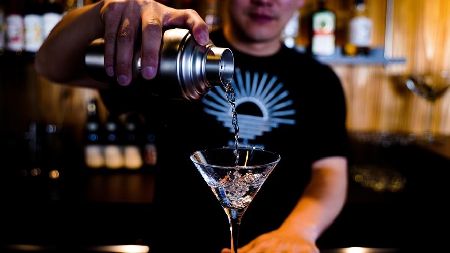 KINOSUKE(BAR) 各種豊富なお飲み物を取り揃えています。
