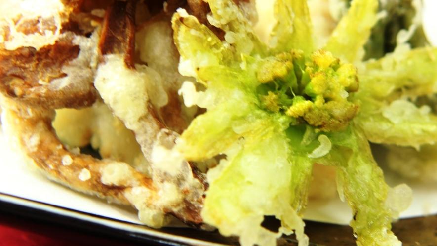・夕食 天ぷら