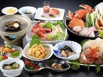 3種類のあわび料理つき海鮮満喫プラン