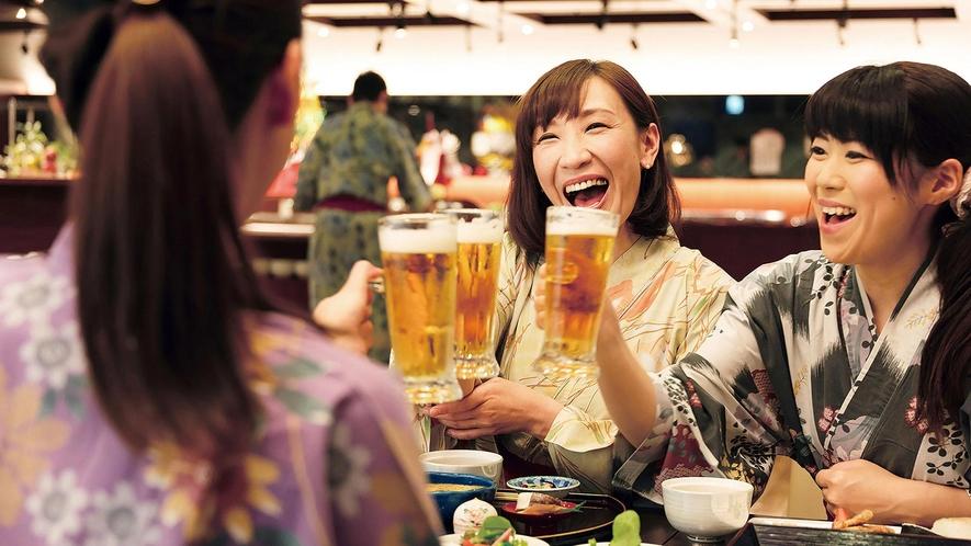 生ビールで乾杯をしよう!!