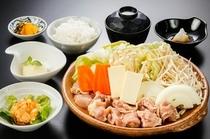 夕食例(陶板焼コース)