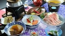 【秋】国産豚のしゃぶしゃぶプラン