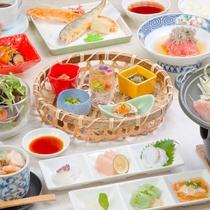【2018年6月~8月 雅コース】旬の食材と彩り豊かな創作料理