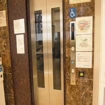 当館自慢のエレベーター