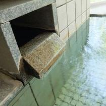 木立の湯・湯口