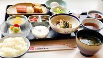 朝食セットメニュー一例 ※和食