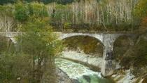 秋の第五音更川橋梁