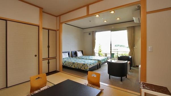 ベッド和洋室【オーシャンビューの離れ『UMITOKI』】