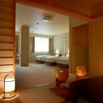 【和洋室一例】ベッドでお休みになりたい人に人気のお部屋です