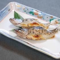 *川魚の焼き物