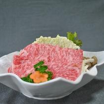*熊野牛のしゃぶしゃぶ肉(イメージ)