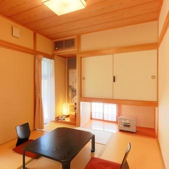 Cタイプ【露天風呂と檜の内湯が付いた平屋造りの離れ客室】