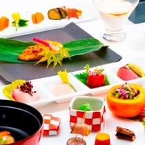 四季折々の食材をふんだんに使用した当館自慢の会席料理