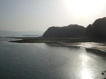 のどかな伊万里湾の風景