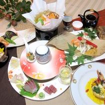 地元食材にこだわった、自慢の創作和風会席です ※画像はイメージです。