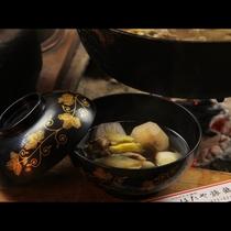 【囲炉裏料理】秋限定・いも煮