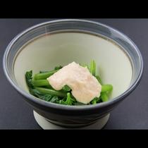 【夕食一例】日替わり小鉢
