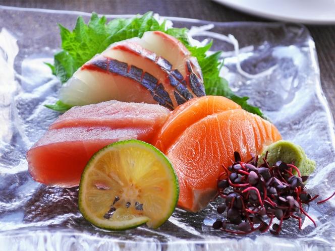 【夕食一例:はちはち和食プラン】刺身