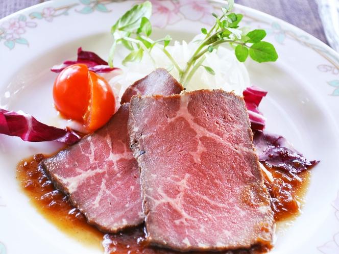 【夕食一例:はちはち和食プラン】肉料理