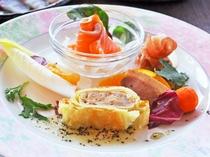 【夕食一例:またたきプラン】前菜