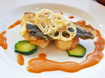 【夕食一例:ときめきプラン】魚料理