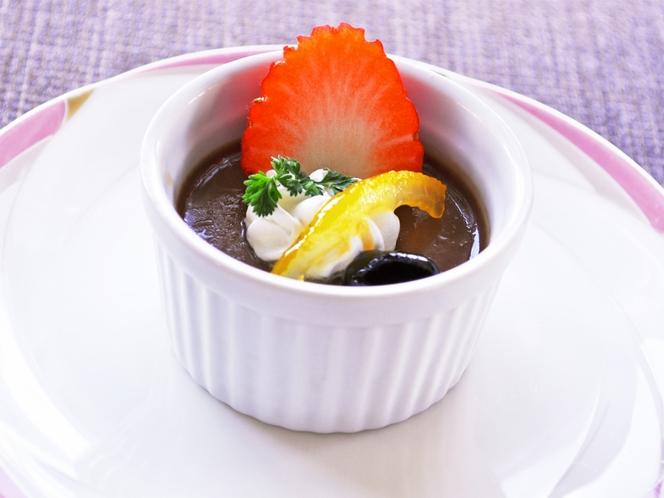 【夕食一例:はちはち和食プラン】デザート(コーヒー付)