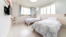 *新装2号棟【西華】2階/シンプルで居心地の良い空間です。
