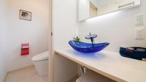 *新装2号棟【西華】1階/トイレ・洗面台
