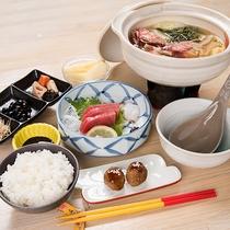 *夕食一例「味噌汁御膳」
