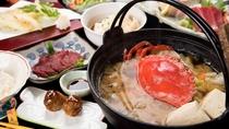 *[夕食6,380円/税込]夕食一例「西表名物高級ガザミ・ワタリガニ汁御膳」