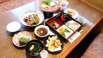 *【旅人コースⅡ一例】宇和島や愛媛の食材をふんだんに使用した自慢のコース