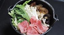 *【夕食一例】すき焼き風煮