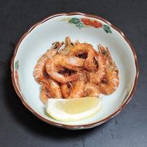 *【夕食一例】小海老の唐揚げ