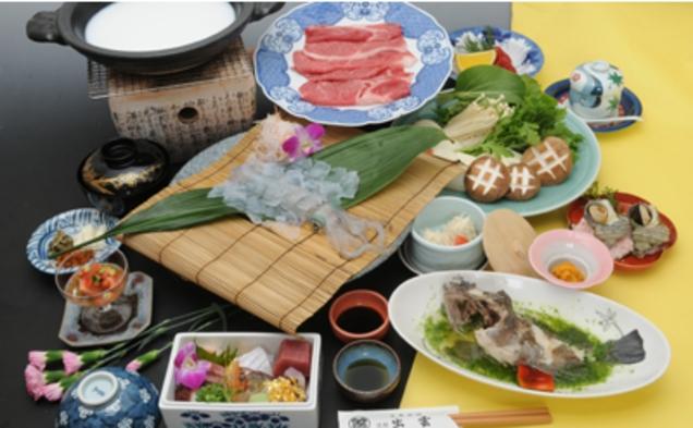 ★秋得★佐賀牛のしゃぶしゃぶコース(1泊2食)【現金特価】