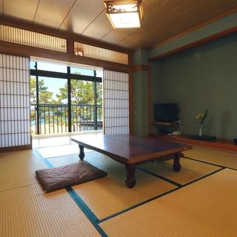 【ひろびろ】和室8畳+4畳海が見えるお部屋