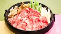 【朝食】「長崎和牛のすき焼き」でワンランク上の朝食を!