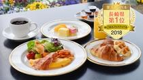 楽天トラベル朝ごはんフェスティバル2018 長崎県《第1位》獲得の朝食ビュッフェ