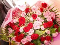 ご予算に応じてサプライズにぴったりの花束をご用意可能です。(事前のご相談が必要です)