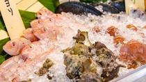 【夕食】長崎産海の幸のグリルはライブキッチンで