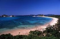 渡嘉敷島のメインビーチ、阿波連ビーチ
