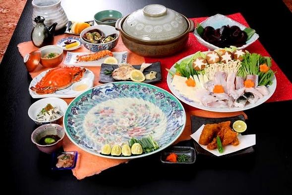 【フグ料理】「多幸福」 海鮮&フグのボリューム満点な内容でフグを堪能出来る定番コース!
